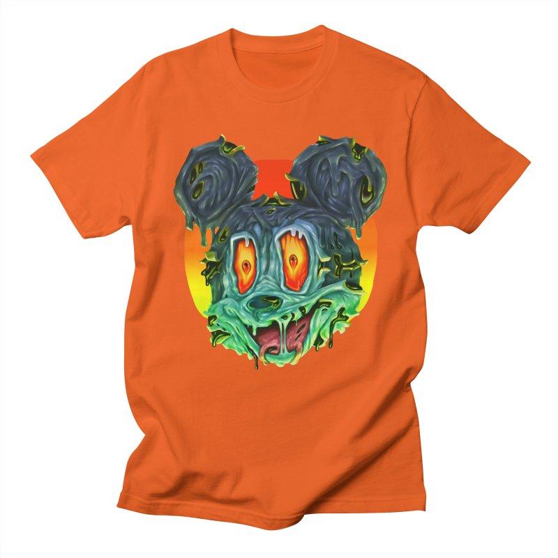 Horror Mouse Men's Regular T-Shirt by villainmazk's Artist Shop