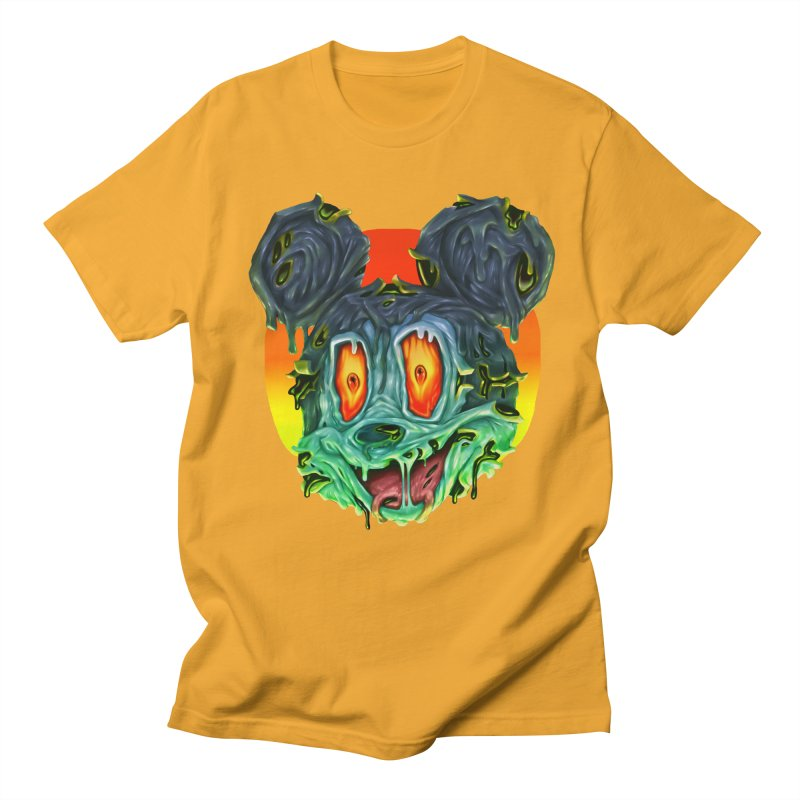 Horror Mouse Men's Regular T-Shirt by villainmazk's Artist Shop