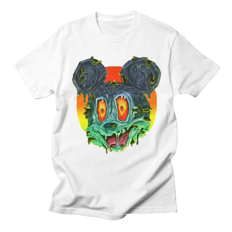 Horror Mouse Women's Regular Unisex T-Shirt by villainmazk's Artist Shop