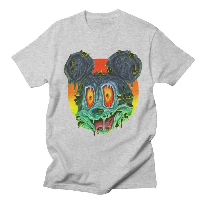 Horror Mouse Women's Regular Unisex T-Shirt by villainmazk's Artist Shop