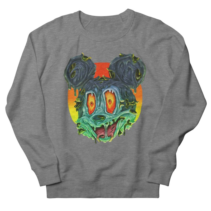 Horror Mouse Women's French Terry Sweatshirt by villainmazk's Artist Shop