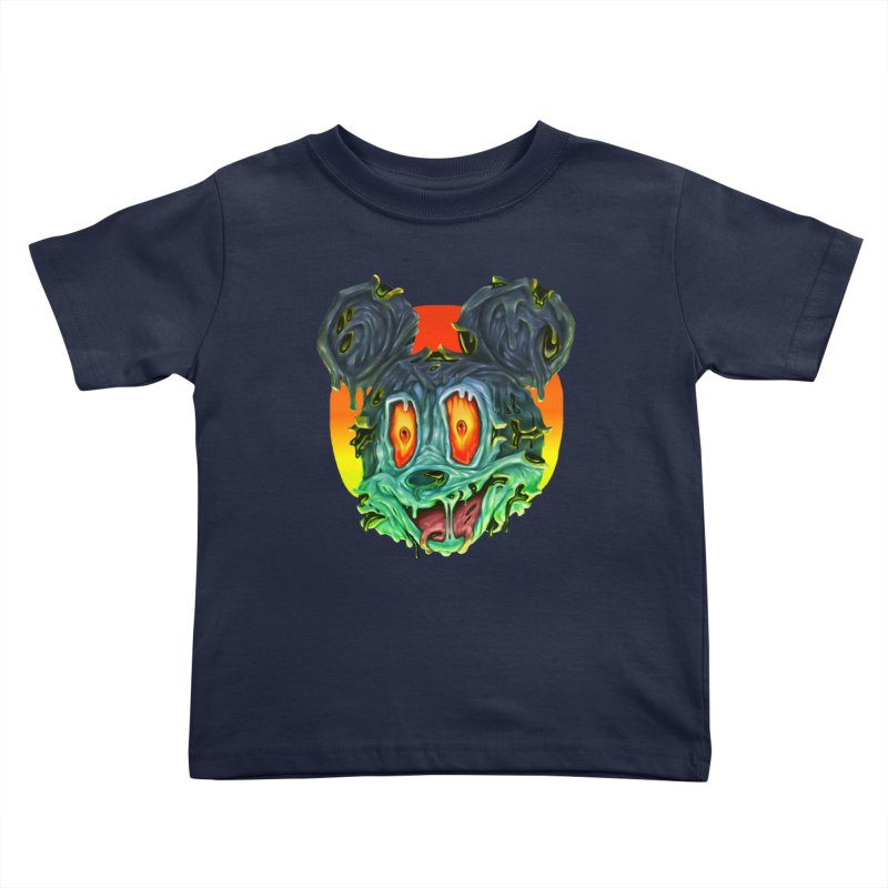 Horror Mouse Kids Toddler T-Shirt by villainmazk's Artist Shop
