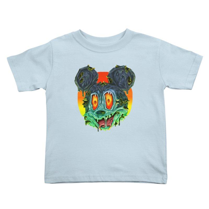 Horror Mouse Kids Toddler T-Shirt by villainmazk's Artist Shop