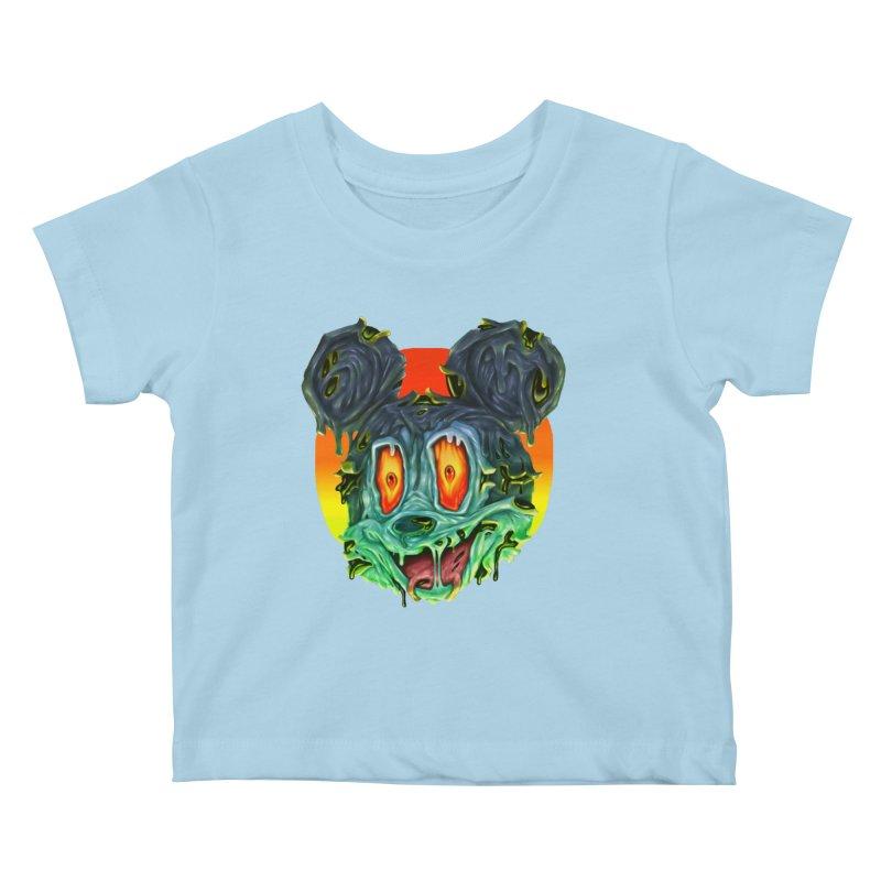 Horror Mouse Kids Baby T-Shirt by villainmazk's Artist Shop