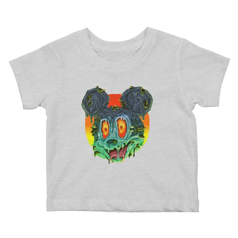 Horror Mouse Kids Baby T-Shirt by villainmazk's Artist Shop