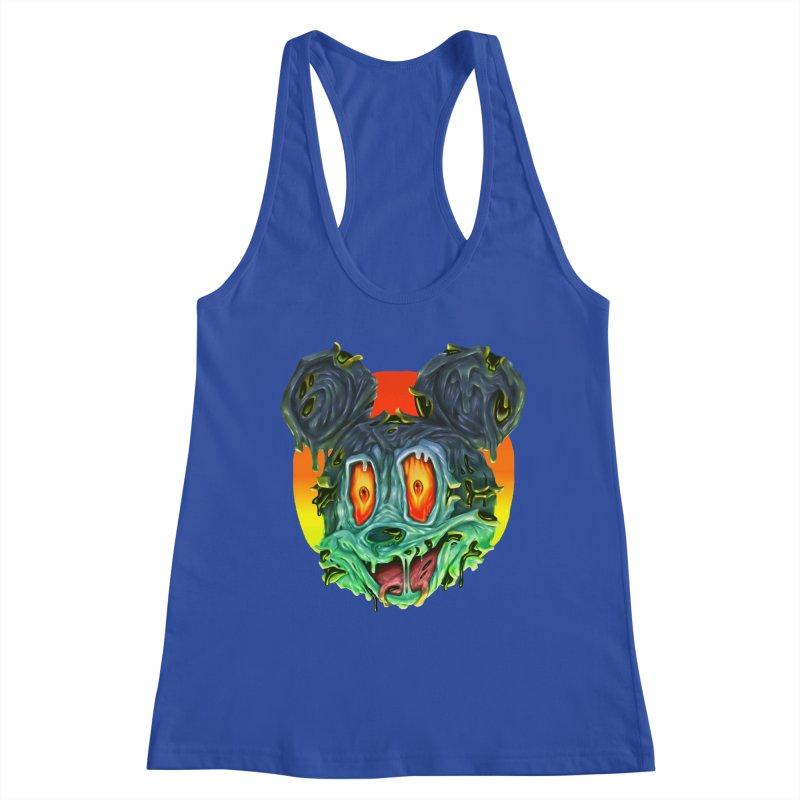 Horror Mouse Women's Racerback Tank by villainmazk's Artist Shop