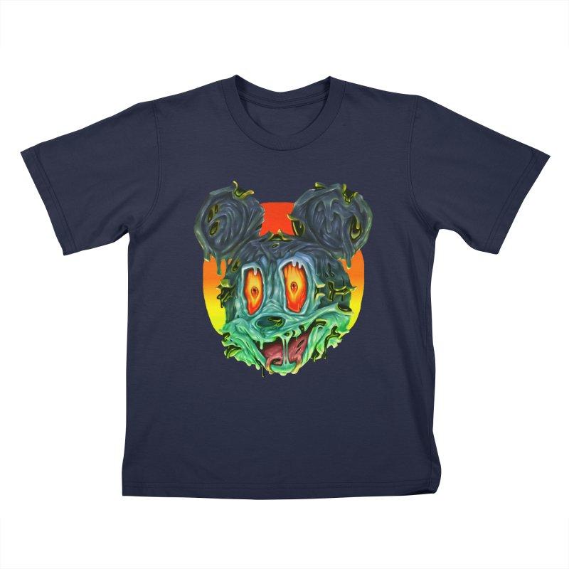 Horror Mouse Kids T-Shirt by villainmazk's Artist Shop