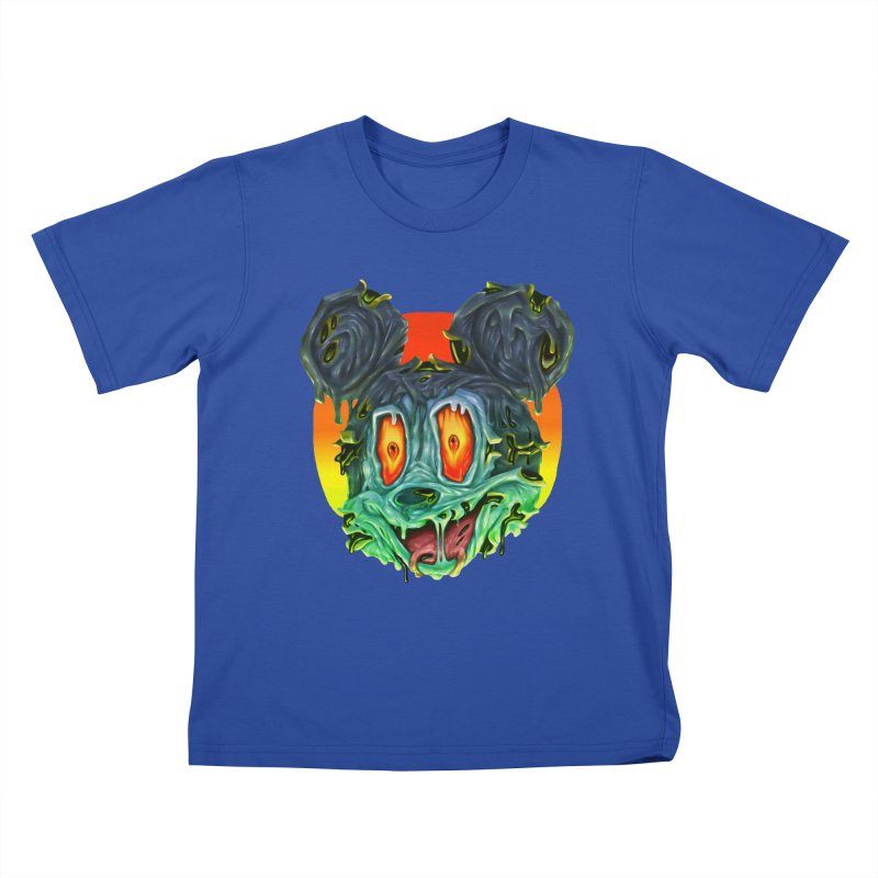 Horror Mouse Kids T-Shirt by villainmazk's Artist Shop
