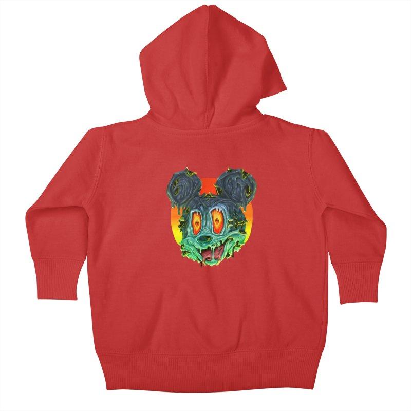 Horror Mouse Kids Baby Zip-Up Hoody by villainmazk's Artist Shop