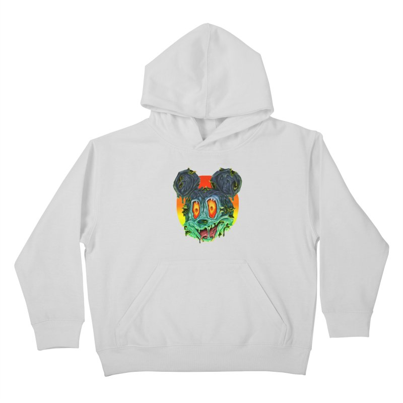 Horror Mouse Kids Pullover Hoody by villainmazk's Artist Shop
