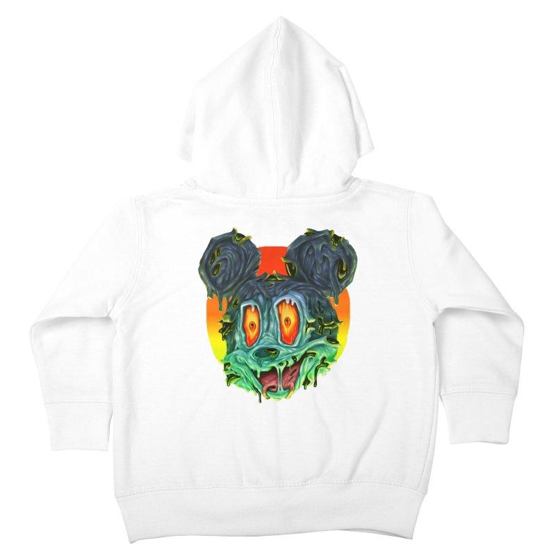 Horror Mouse Kids Toddler Zip-Up Hoody by villainmazk's Artist Shop