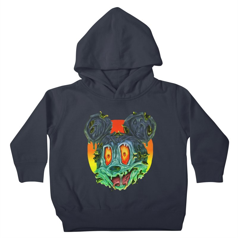 Horror Mouse Kids Toddler Pullover Hoody by villainmazk's Artist Shop