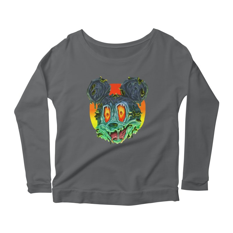 Horror Mouse Women's Longsleeve T-Shirt by villainmazk's Artist Shop
