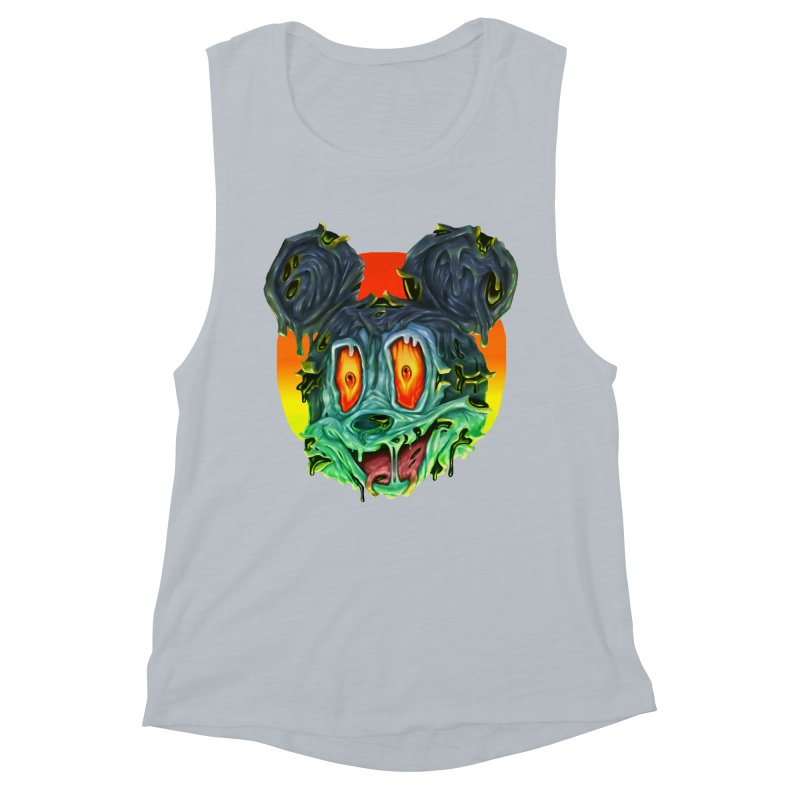 Horror Mouse Women's Muscle Tank by villainmazk's Artist Shop