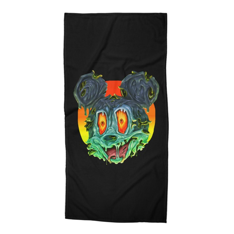 Horror Mouse Accessories Beach Towel by villainmazk's Artist Shop