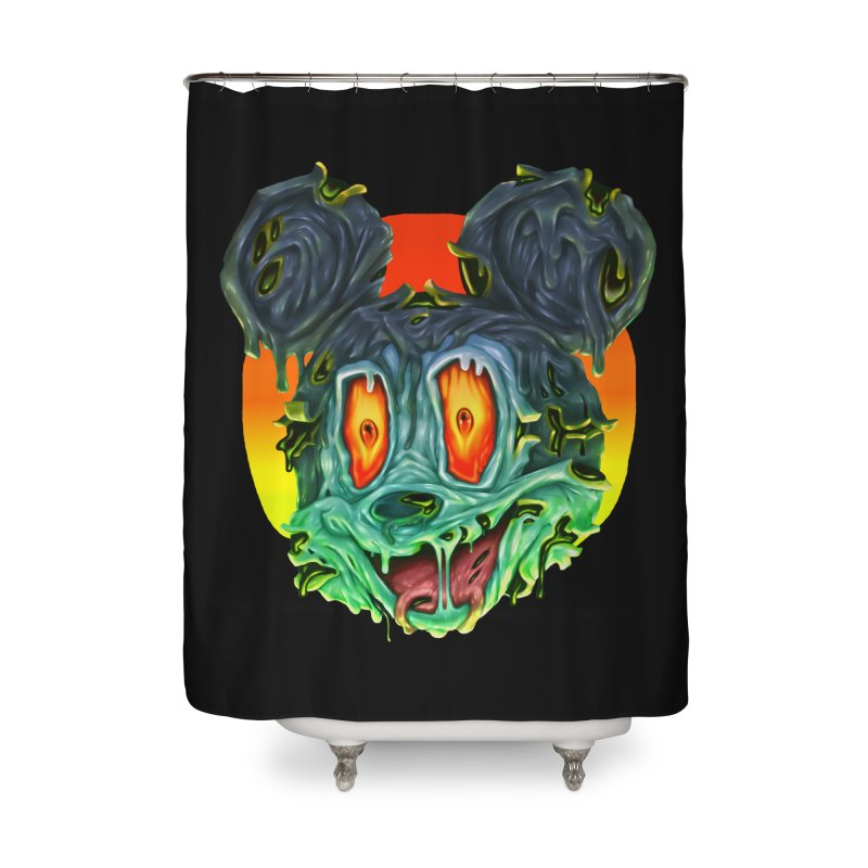 Horror Mouse Home Shower Curtain by villainmazk's Artist Shop