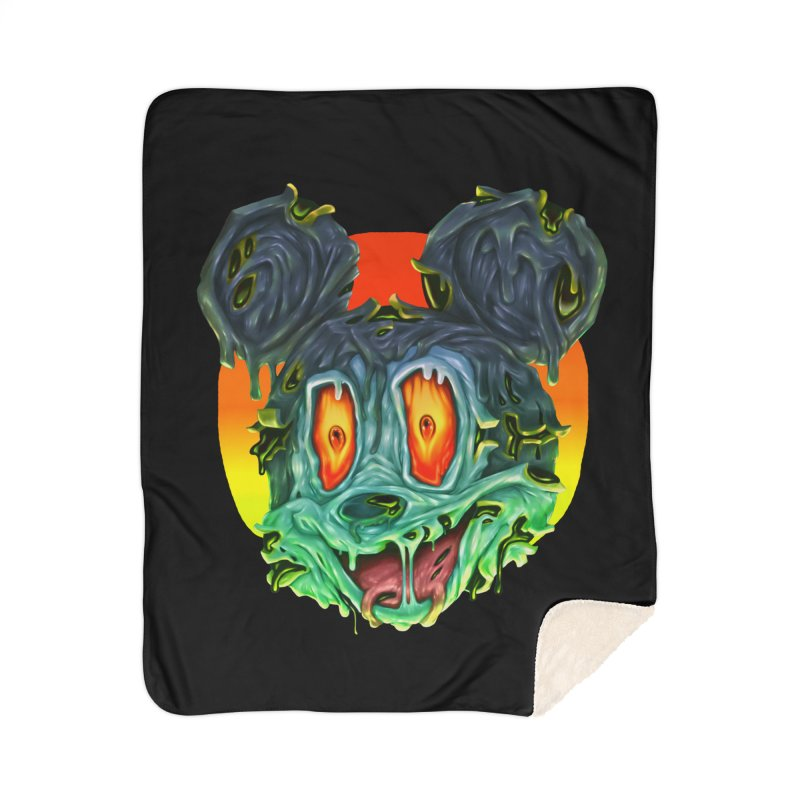 Horror Mouse Home Blanket by villainmazk's Artist Shop