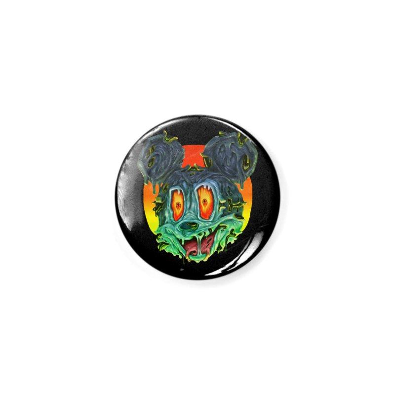 Horror Mouse Accessories Button by villainmazk's Artist Shop