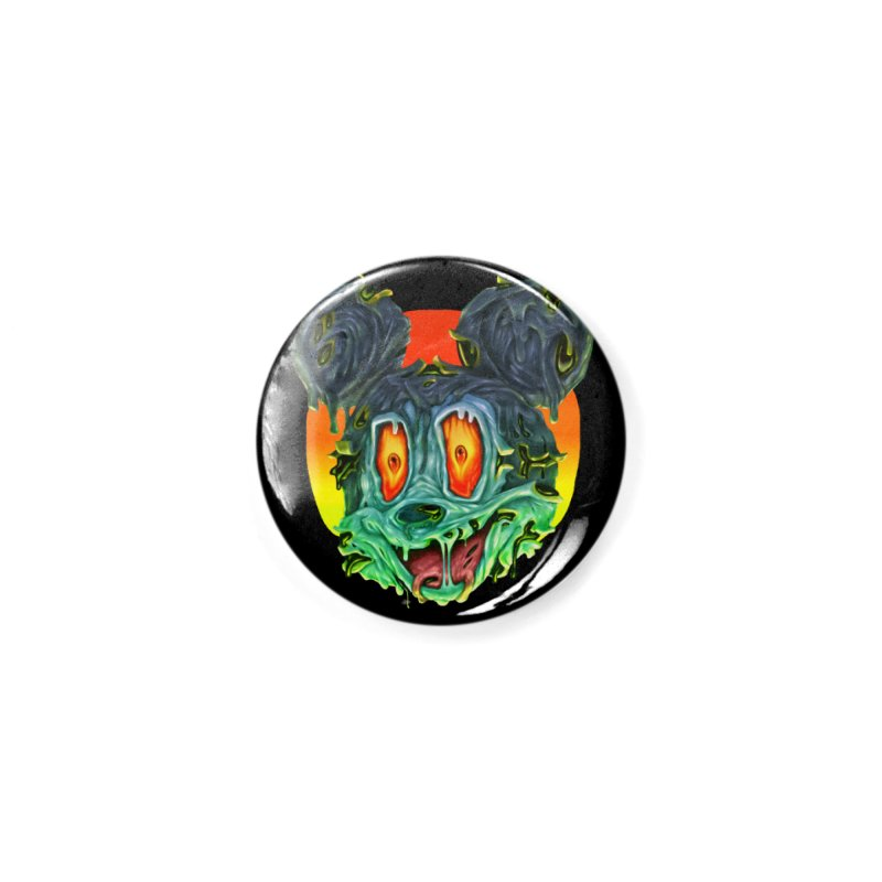 Horror Mouse Accessories Button by villainmazk's Artist Shop