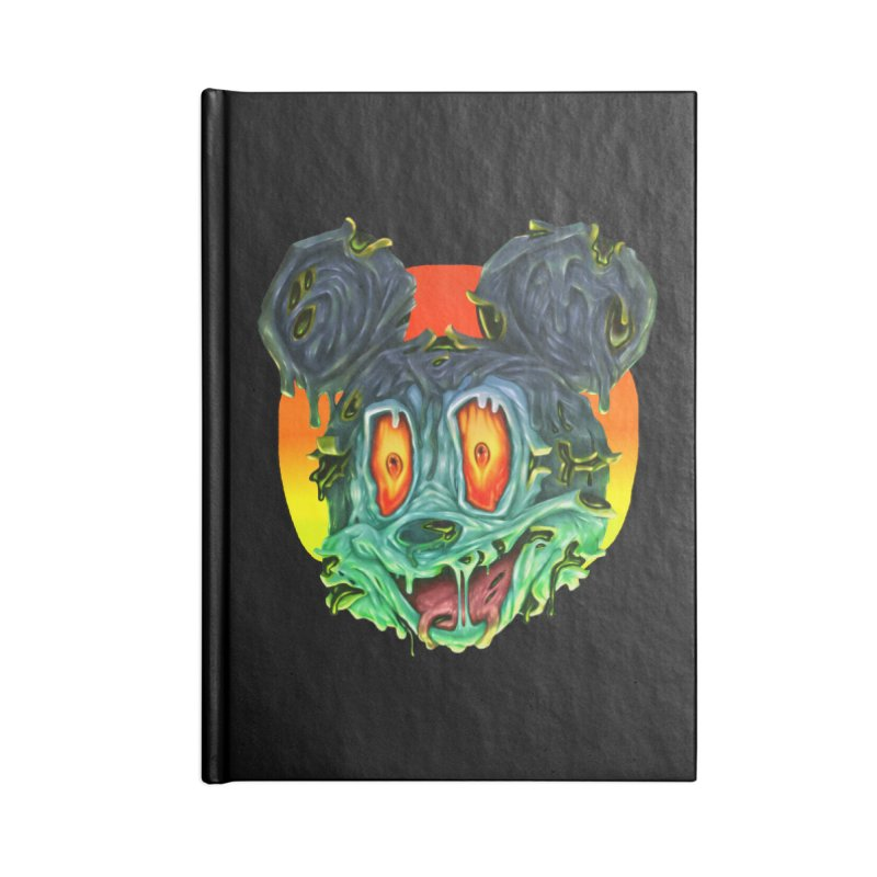 Horror Mouse Accessories Lined Journal Notebook by villainmazk's Artist Shop