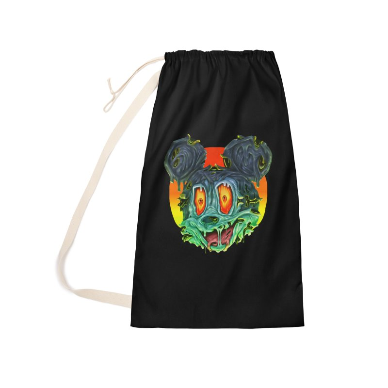 Horror Mouse Accessories Laundry Bag Bag by villainmazk's Artist Shop