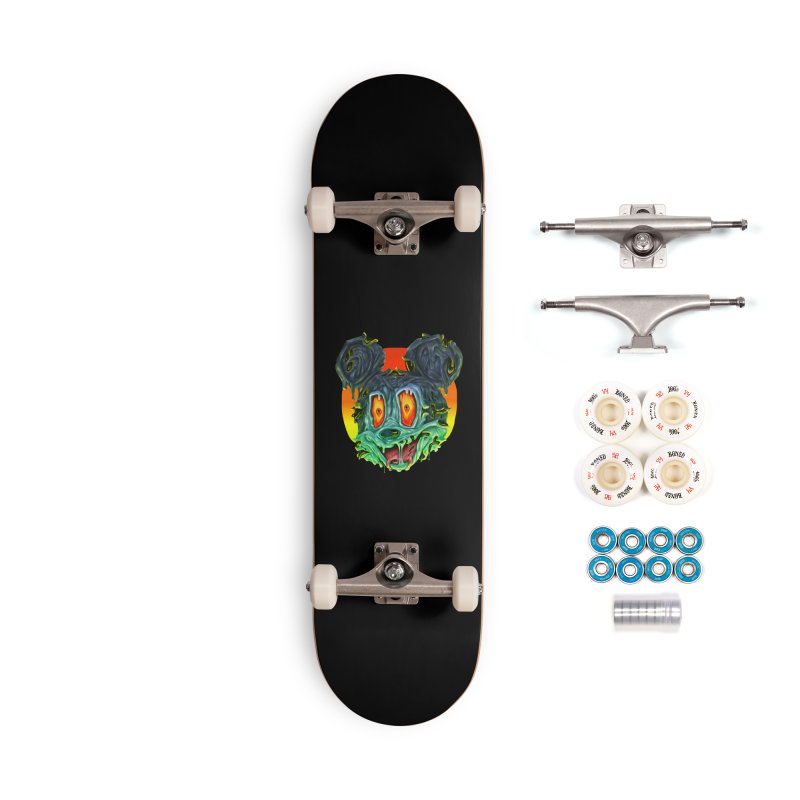 Horror Mouse Accessories Complete - Premium Skateboard by villainmazk's Artist Shop