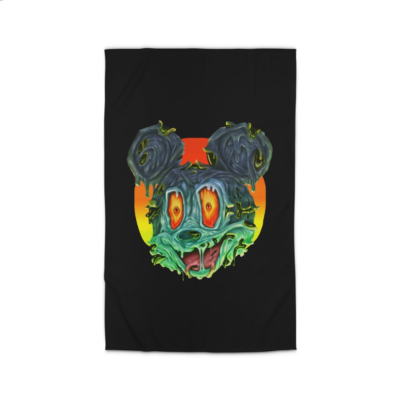 Horror Mouse Home Rug by villainmazk's Artist Shop