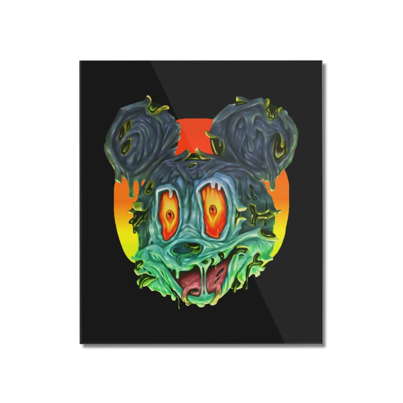 Horror Mouse Home Mounted Acrylic Print by villainmazk's Artist Shop