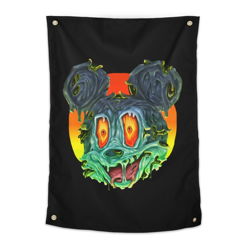 Horror Mouse Home Tapestry by villainmazk's Artist Shop