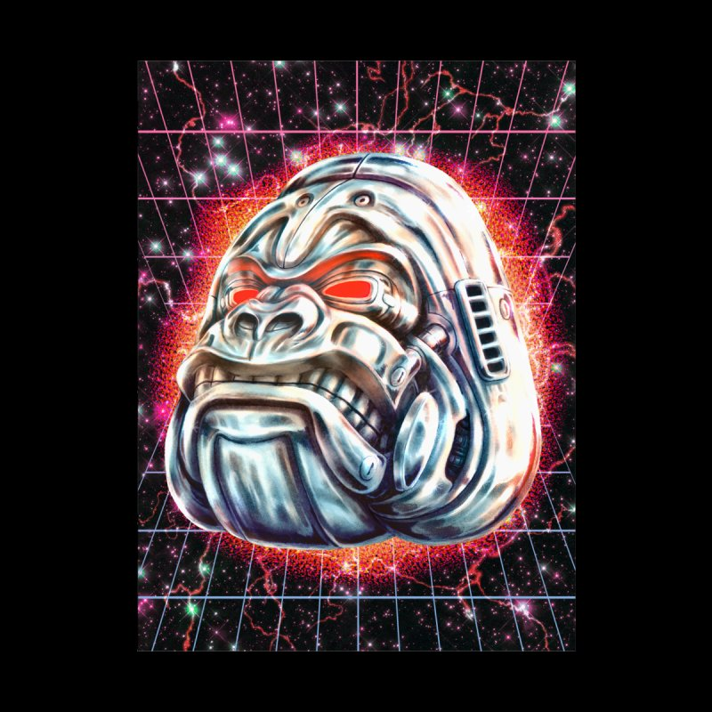 Electric Gorilla Accessories Phone Case by villainmazk's Artist Shop