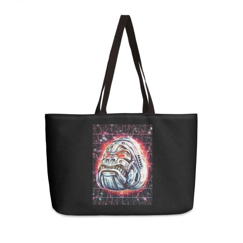 Electric Gorilla Accessories Bag by villainmazk's Artist Shop