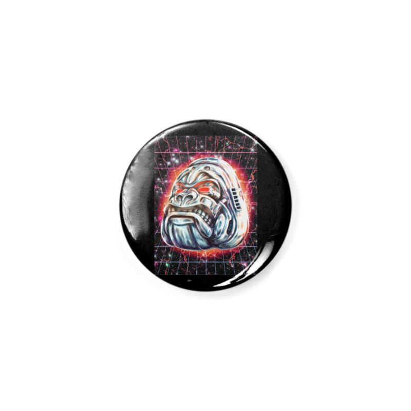 Electric Gorilla Accessories Button by villainmazk's Artist Shop