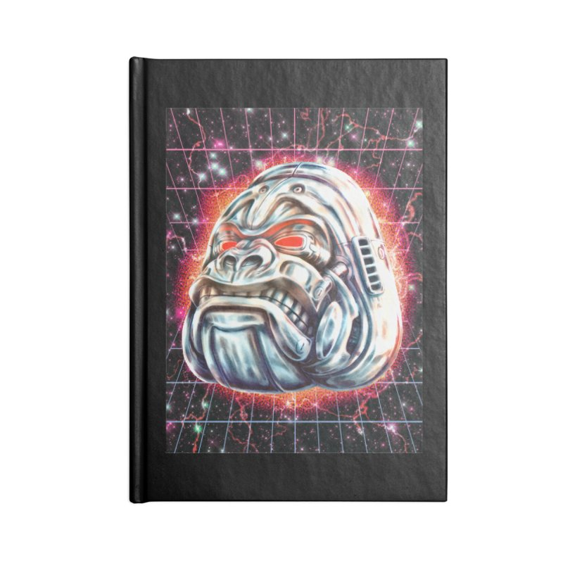 Electric Gorilla Accessories Lined Journal Notebook by villainmazk's Artist Shop