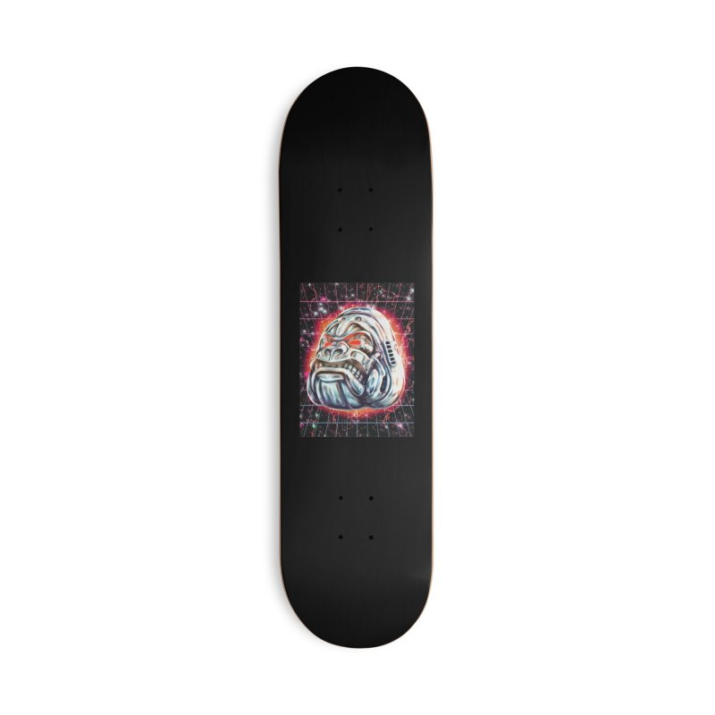 Electric Gorilla Accessories Deck Only Skateboard by villainmazk's Artist Shop
