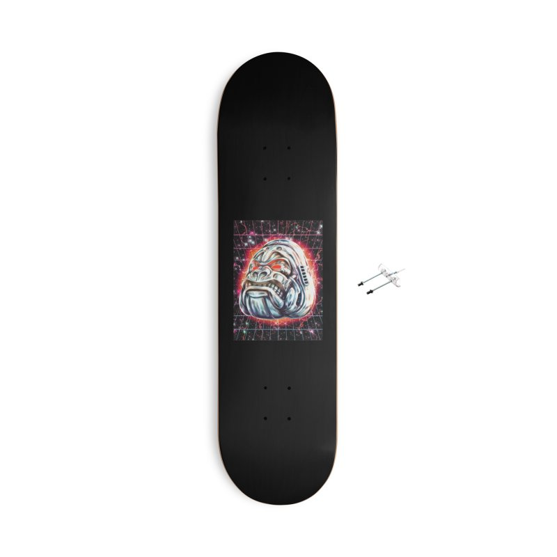 Electric Gorilla Accessories With Hanging Hardware Skateboard by villainmazk's Artist Shop