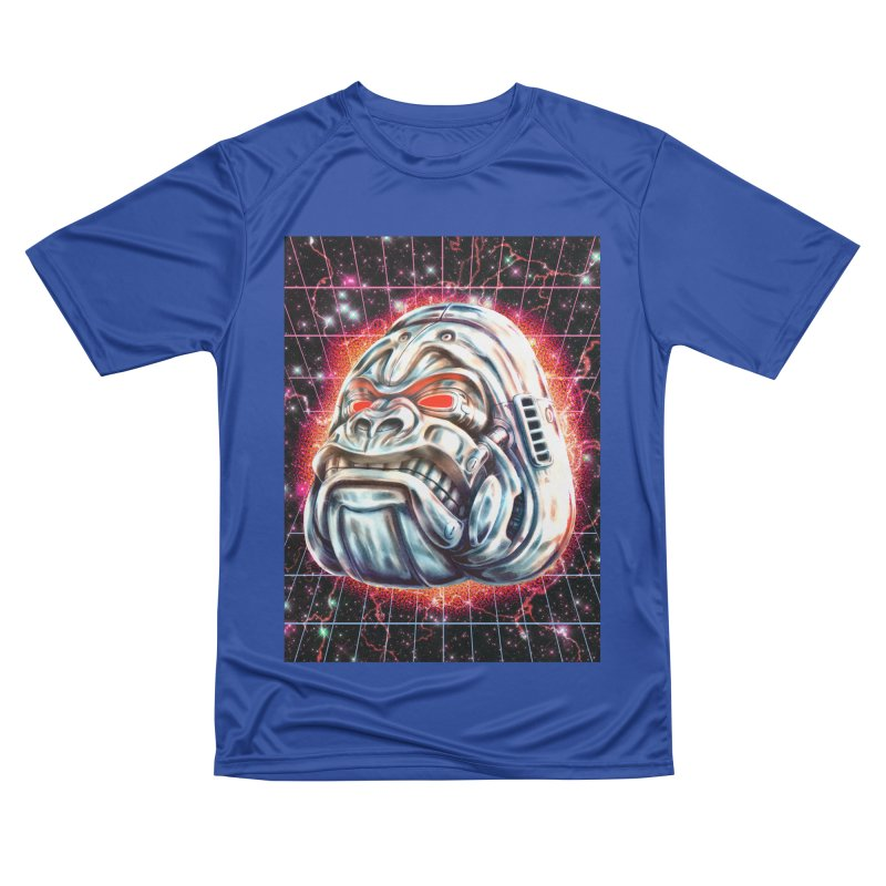 Electric Gorilla Men's Performance T-Shirt by villainmazk's Artist Shop