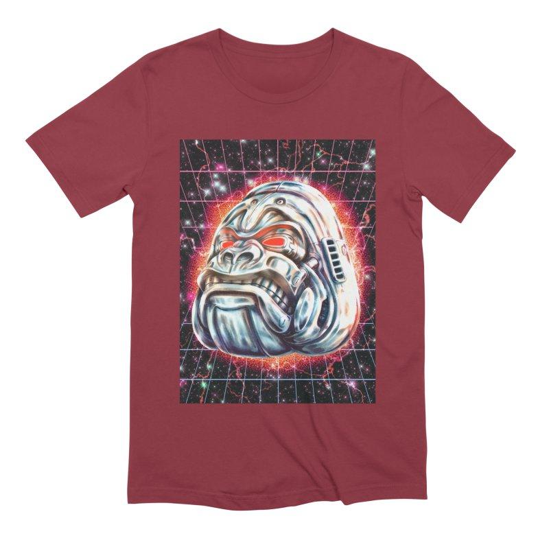 Electric Gorilla Men's Extra Soft T-Shirt by villainmazk's Artist Shop
