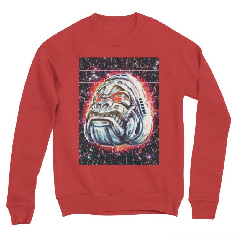 Electric Gorilla Women's Sponge Fleece Sweatshirt by villainmazk's Artist Shop
