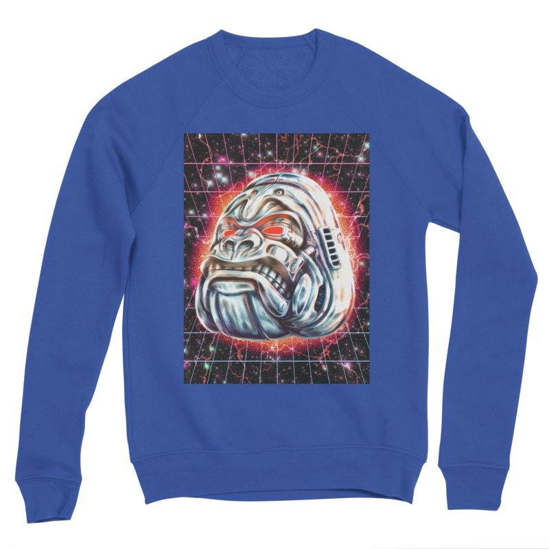 Electric Gorilla Men's Sweatshirt by villainmazk's Artist Shop