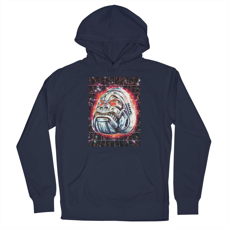 Electric Gorilla Women's French Terry Pullover Hoody by villainmazk's Artist Shop