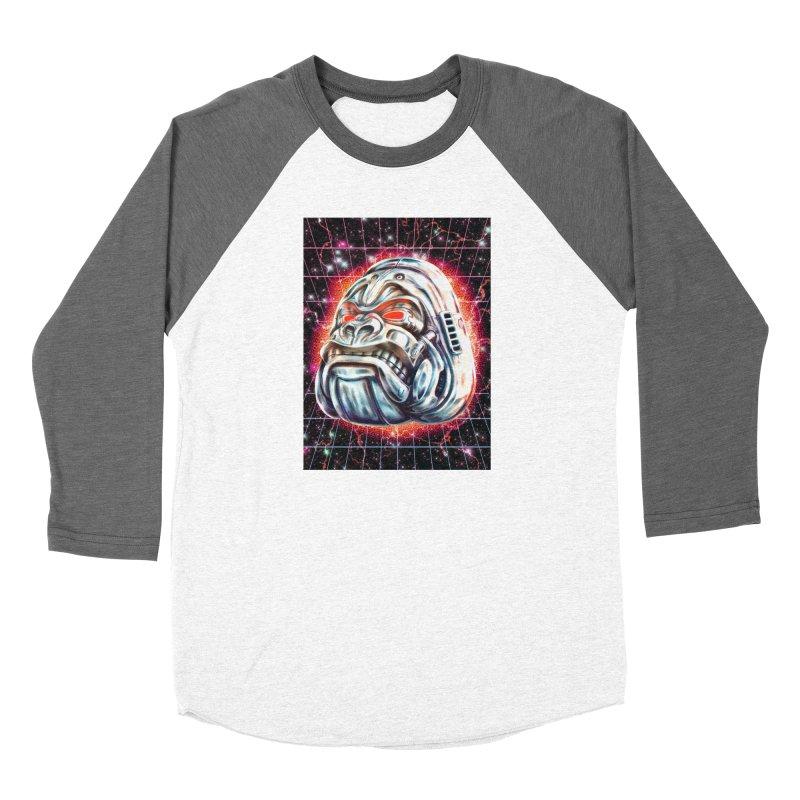 Electric Gorilla Women's Longsleeve T-Shirt by villainmazk's Artist Shop