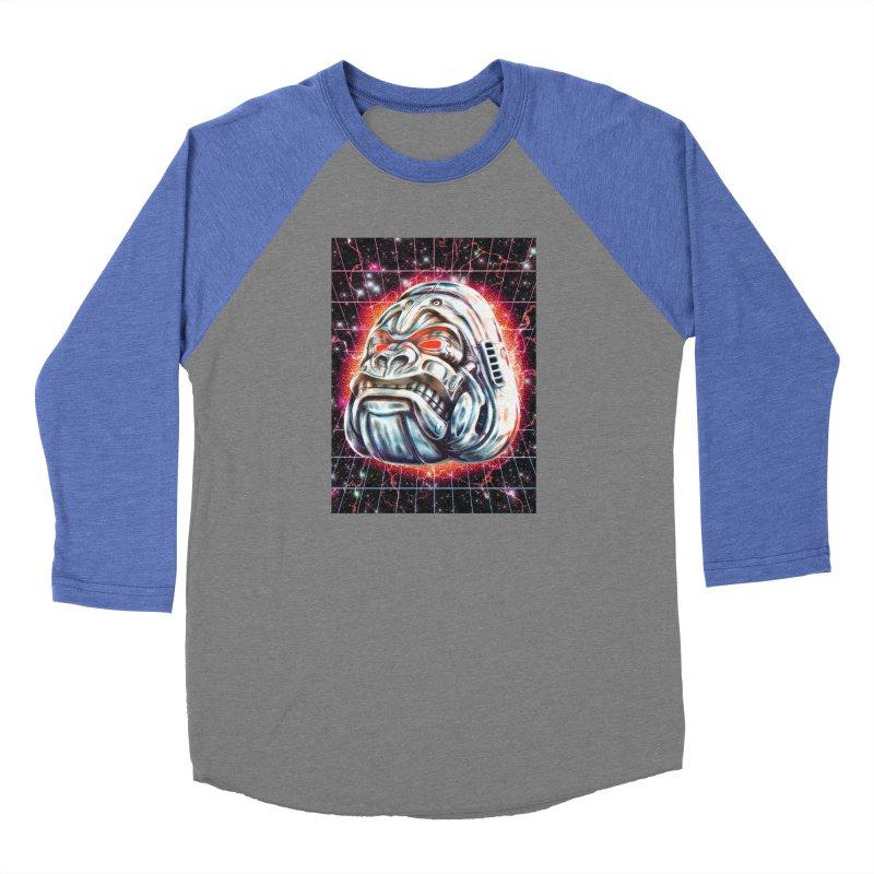 Electric Gorilla Men's Baseball Triblend Longsleeve T-Shirt by villainmazk's Artist Shop