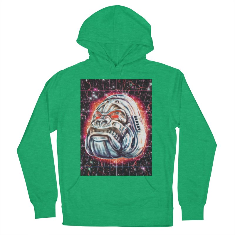 Electric Gorilla Men's French Terry Pullover Hoody by villainmazk's Artist Shop