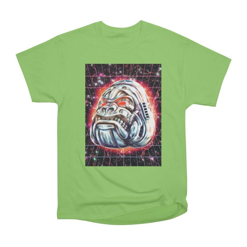 Electric Gorilla Women's Heavyweight Unisex T-Shirt by villainmazk's Artist Shop