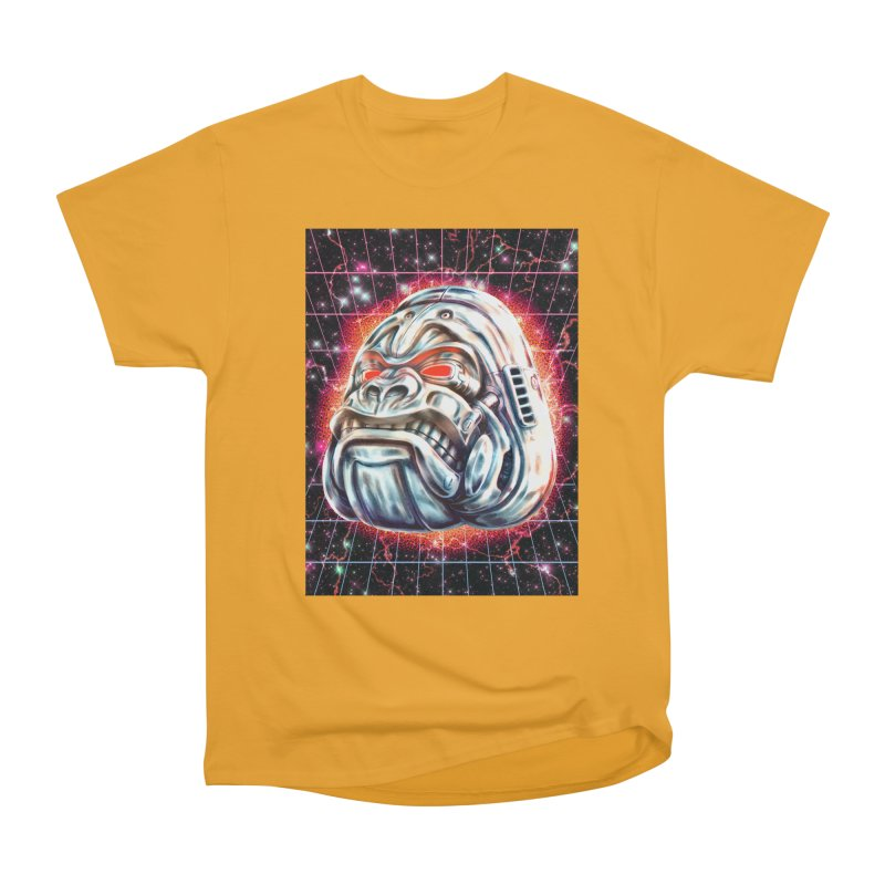 Electric Gorilla Men's Heavyweight T-Shirt by villainmazk's Artist Shop