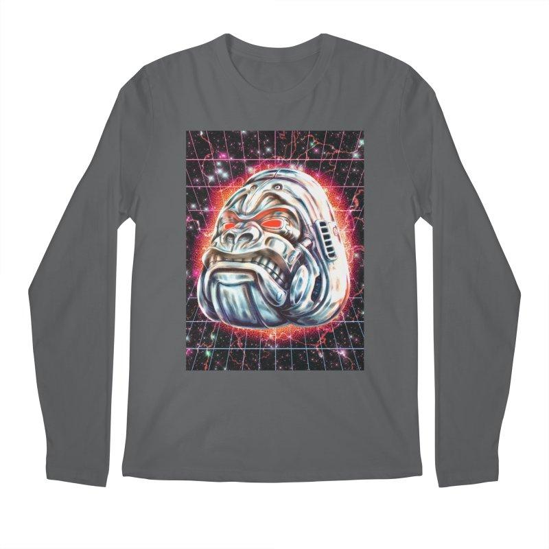 Electric Gorilla Men's Regular Longsleeve T-Shirt by villainmazk's Artist Shop