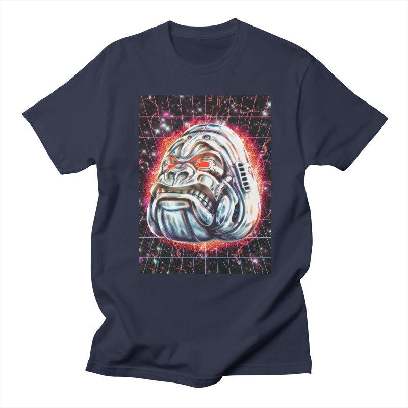 Electric Gorilla Women's Regular Unisex T-Shirt by villainmazk's Artist Shop