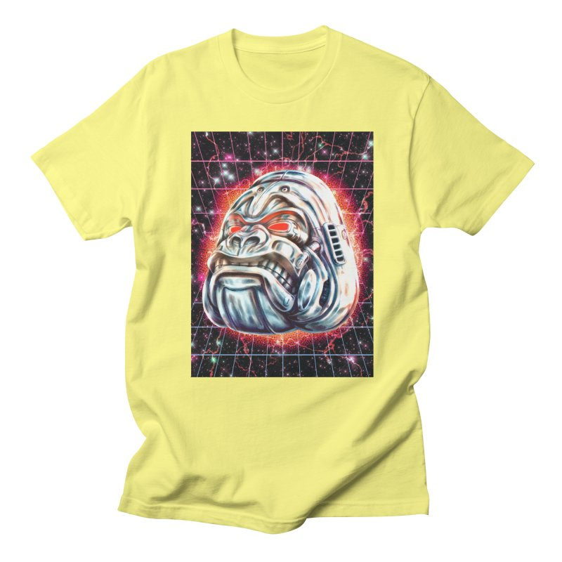 Electric Gorilla Men's Regular T-Shirt by villainmazk's Artist Shop