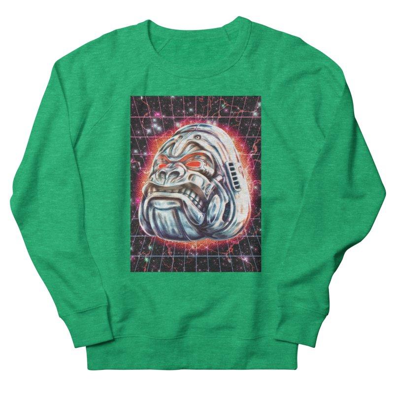 Electric Gorilla Men's French Terry Sweatshirt by villainmazk's Artist Shop