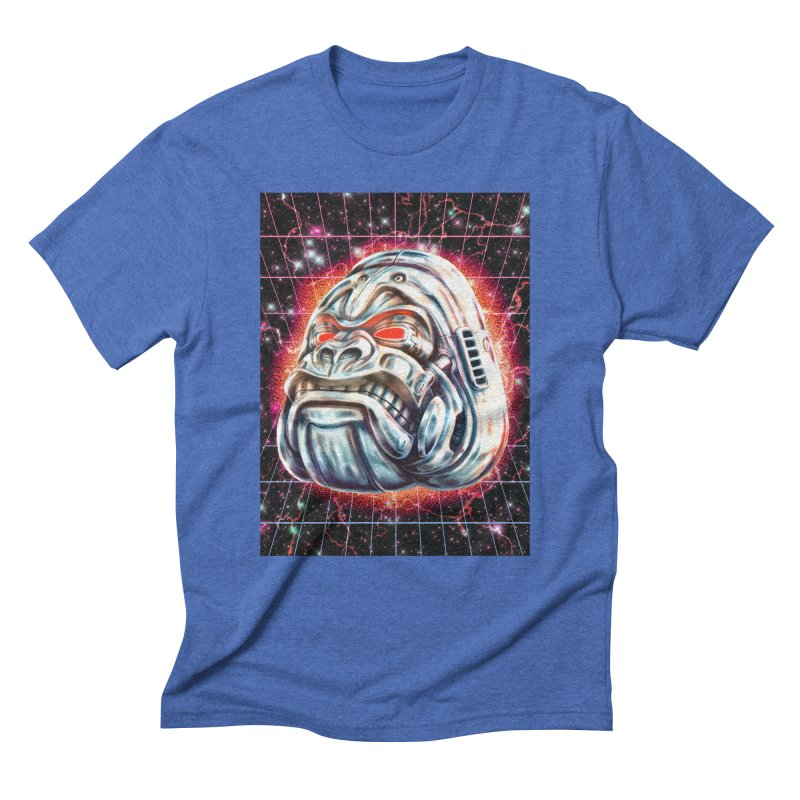 Electric Gorilla Men's T-Shirt by villainmazk's Artist Shop